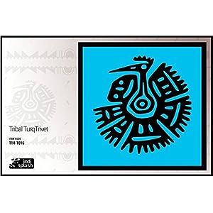 Indispash Tribal Turq Trivet