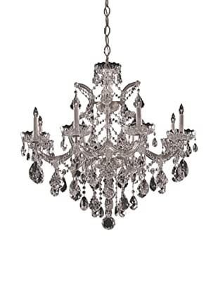 Gold Coast Lighting  Chandelier Draped in Hand Cut Crystal