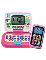 Leap Frog My Own Leaptop And Chat And Count Smart Phone Bundle Girl (Pink & Purple)