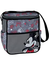 Disney Mickey Mid Sized Diaper Bag, Gray (Discontinued by Manufacturer)