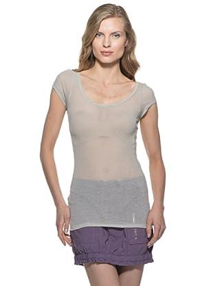 Stefanel T-Shirt (Hellgrau)