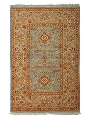 Darya Rugs Ottoman Oriental Rug, Light Blue, 4' 2