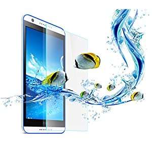 HTC Desire 820Q Dual SIM Smart Phone Shatterproof Protective Anti Explosion Tempered Glass Screen Guard by Generic