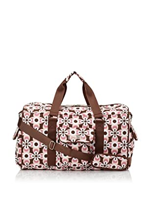 The Bumble Collection Jennifer Weekender Tote (Graphic Geo Flower)