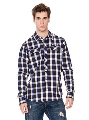 Tommy Hilfiger Camisa (Blanco / Marino / Negro)