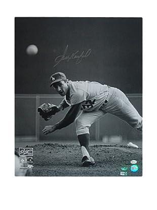Steiner Sports Memorabilia Sandy Koufax 65' WS Pitching Photo
