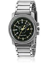 Ne3039Sm02-D517 Silver/Black Analog Watch