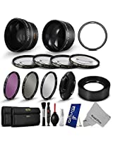 Lens Filter & Accessory Kit for Canon PowerShot SX50 HS