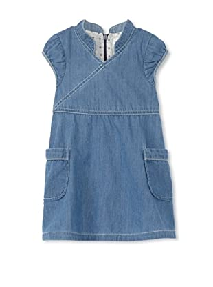 TroiZenfants Girl's Asian Denim Dress (Denim)