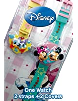 Disney Digital Pink Dial Children's Watch - 6500030