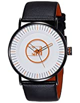 MTV Analog White Dial Men's Watch - B7017WH
