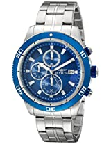 Invicta Analog Blue Dial Men's Watch - 17440