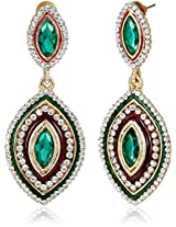 Ava Traditional Drop Earrings for Women (Multicolour) (E-SD-1381)