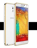 iAccessorize Ultra Thin Metal Bumper Case Cover For Samsung Galaxy Note 2 (Silver)