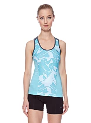 PUMA Tank Top Ess Gym Graphic (blue curacao/turbulence)