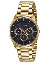 Citizen Analog Black Dial Men's Watch - AG8352-59E