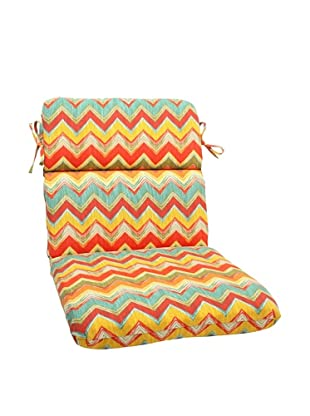 Pillow Perfect Outdoor Tamarama Rounded Corner Chair Cushion, Multicolor