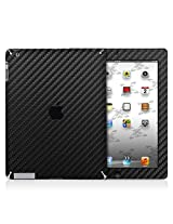 XGear EXO Skin Protective Vinyl for iPad 2/3 (Black Carbon Fiber)