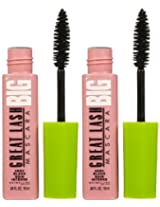Maybelline Great Lash Big Mascara Very Black 2 Pack