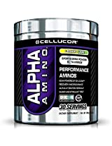 Cellucor Alpha Amino Acid Supplement with BCAA, Lemon Lime, 30 Servings