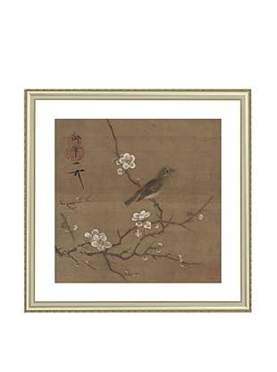 Mind Art Plum Blossom and White-eye Bird