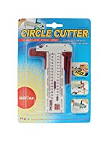Precision Circle Cutter - Size 10mm to 300mm - 1l746 - For Paper Arts and Craft, Leather, Vinyl, Rubber Etc.