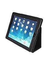 Kyasi APLJUS Folio Case with Premium PU Leather for Apple iPad 2, iPad 3 or iPad 4, Black