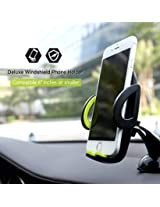 1pc Rock Car Mobile Phone Holder Stand Adjustable Support 6.0 inch 360 Rotate For iPhone 5S 6 6S Plus For Samsung Note5 S6 Edge Plus