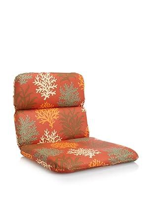 Waverly Sun-n-Shade Marine Life Rounded Chair Cushion (Mango)