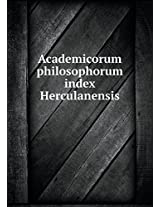 Academicorum Philosophorum Index Herculanensis