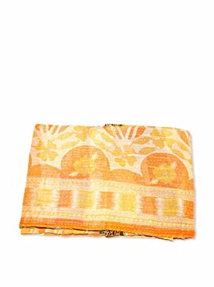 Mili Designs NYC One of a Kind Vintage Kantha Throw, Multi, 50
