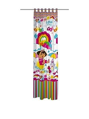 Euromoda Licencias Cortina Trabillas Dora Rainbow (Multicolor)