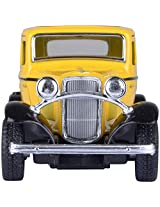 KINSMART 1932 Ford 3 - Window Coup- Yellow