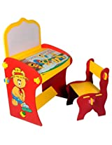 Mebelkart Kid's Study Table with Chair