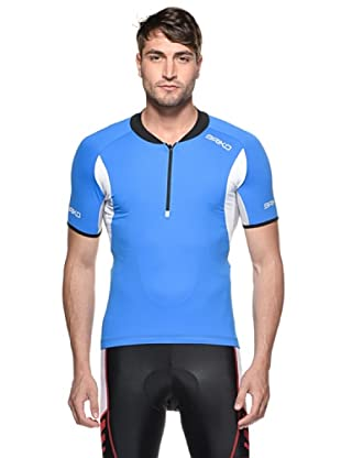 Briko Prokare Funktionsshirt Man (blau weiß)