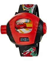Disney Digital Multi-Color Dial Children's Watch - TP-1278 (Red)