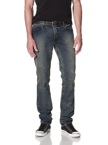 Kill City Men's Skinny Wire Fit Jean (Vintage Blue)