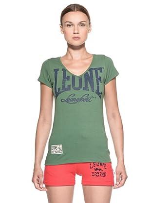 Leone 1947 Camiseta M/M (Verde)