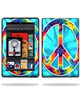 Protective Vinyl Skin Decal Cover for Amazon Kindle Fire 7 inch Tablet sticker skins Peace Out