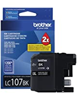 Brother Printer LC107BK Super High Yield Cartridge Ink Black