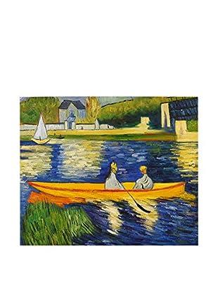 Arte Dal Mondo Ölgemälde auf Leinwand Renoir Rive Della Senna