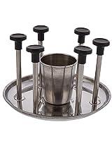 Spice Stainless Steel Utensil Holder, 1-Piece, Silver