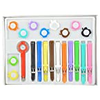 RANG Fashion Watches for Ladies with 10 Changing Strap with Different Colours