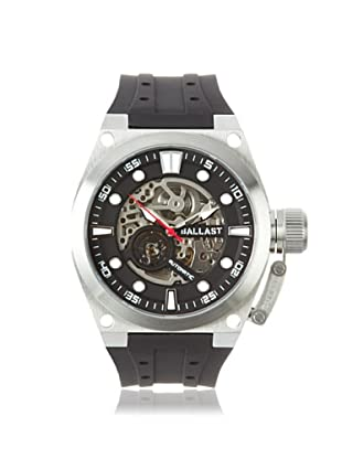 Ballast Men's BL-3105-01 Valiant Black/Silver Stainless Steel Watch