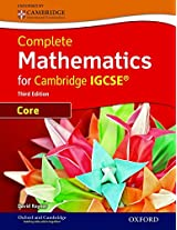 Core Mathematics for Cambridge IGCSE with CD ROM