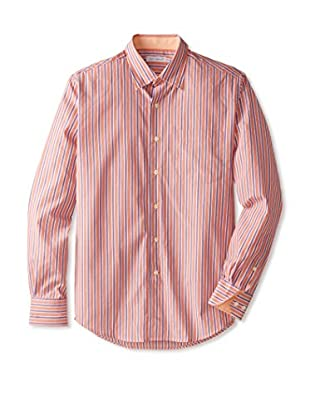 Alex Cannon Men's Striped Sportshirt