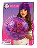 Bead Bazaar Creative Circle Loom Knitting Kit, Moonstruck