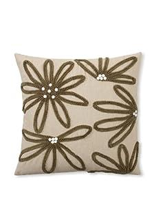 Design Accents Yarn Floral (Natural/Khaki)