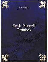 Ensk-Islenzk Oroabok