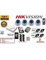8CH Hikvision dvr MERSK Cameras 4pcs -6arry Dome camera 2 megapixel MERSK Cameras 4pcs - 36led bullet camera 2 megapixel power supply 1 TB Hard Disk 8 High quality copper BNC connectors 1 audio microphone FREE HDMI CABLE (Note CAMERAS ARE OF MERSK BRAND MADE IN TAIWAN)